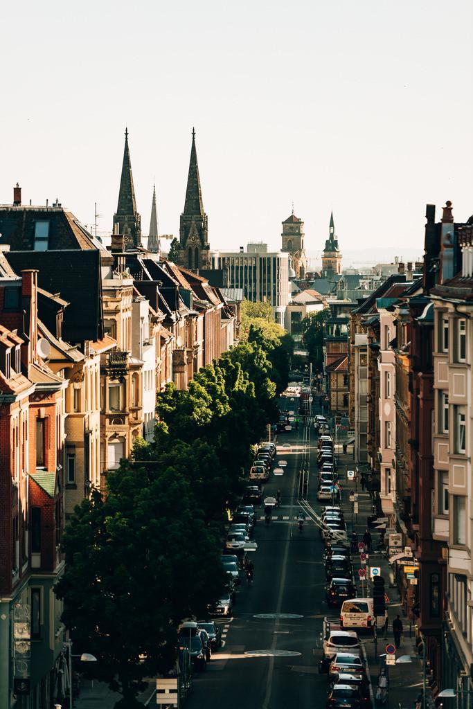 Skyline of Stuttgart