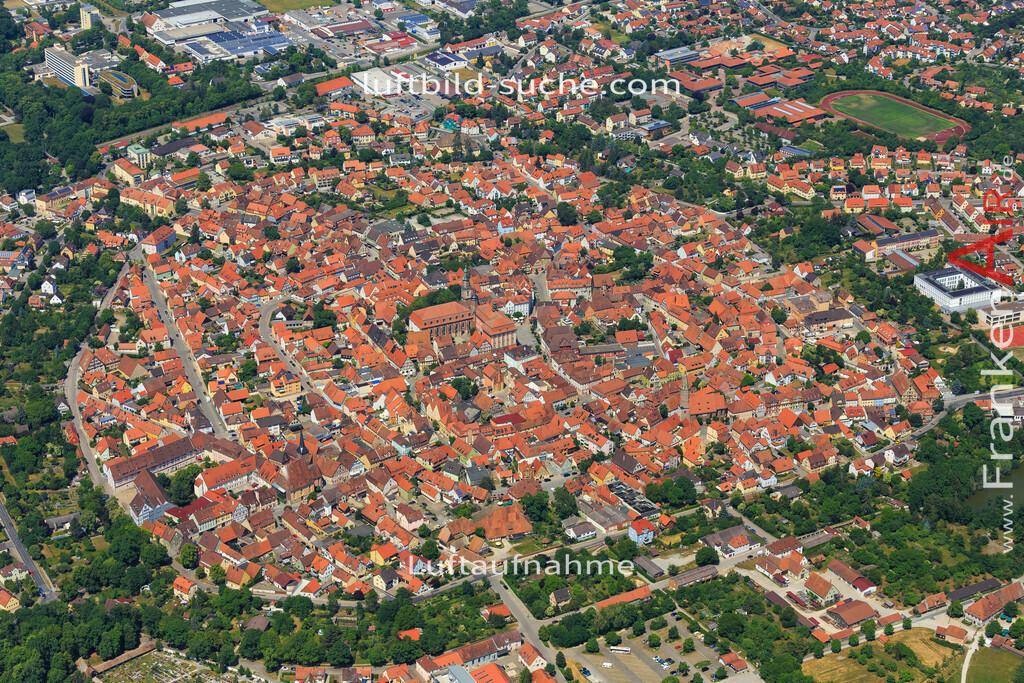 bad-windsheim-2015-1610 | Luftbild von  Bad-windsheim - Luftaufnahme wurde 2015 von https://frankenair.de mittels Flugzeug (keine Drohne) erstellt - die Geschenkidee