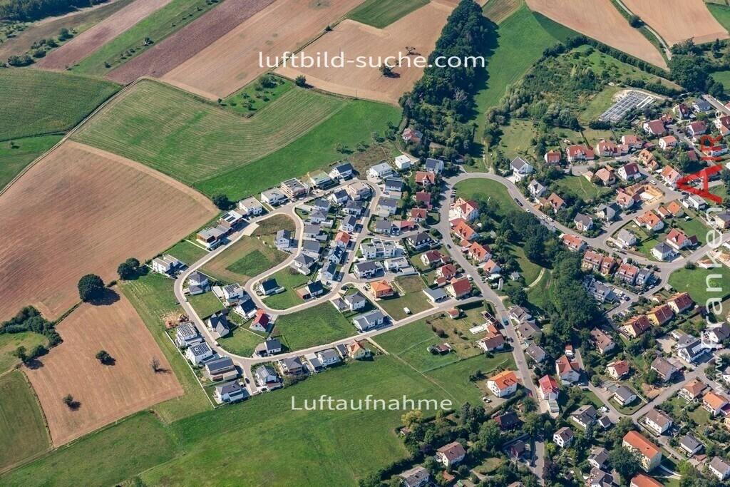 neubaugebiet-baunach-19-302 | aktuelles Luftbild von  Neubaugebiet-baunach - Luftaufnahme wurde 2019 von https://frankenair.de mittels Flugzeug (keine Drohne) erstellt.