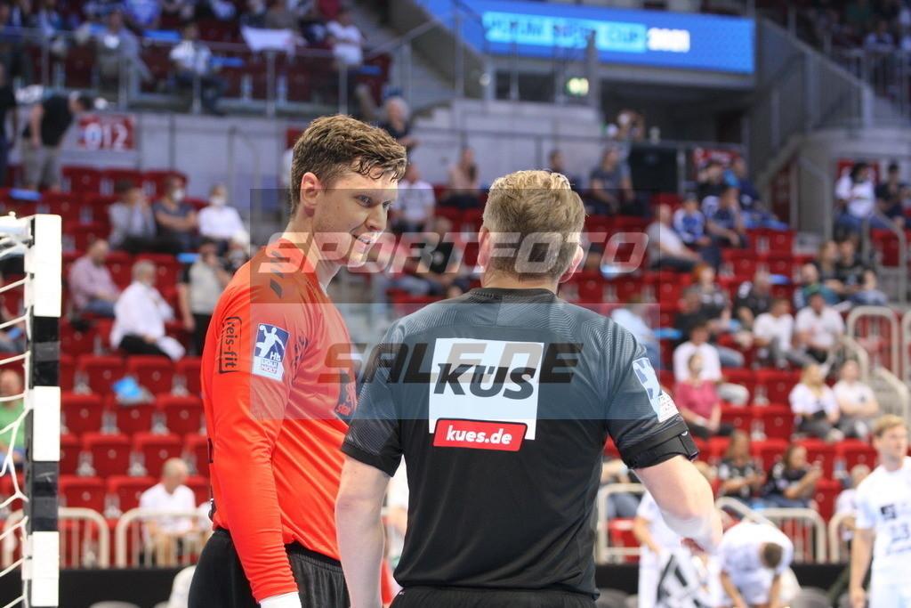 Handball Supercup | Niklas Landin Jakobsen - © by K-Media-Sports / Sportfoto-Sale.de