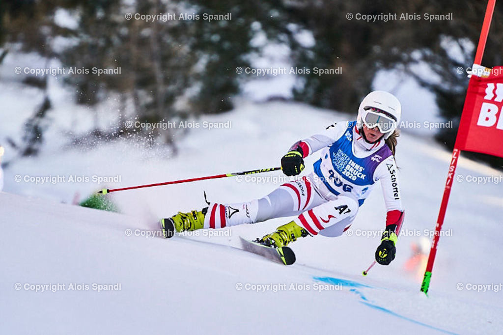 ALS6000_WWMG_GS-II_C | (C) FotoLois.com, Alois Spandl, WinterWorldMastersGames 2020 Innsbruck, Giant Slalom-II Gruppe C Damen, Patscherkofel Olympiaabfahrt, Mi 15. Jänner 2020.