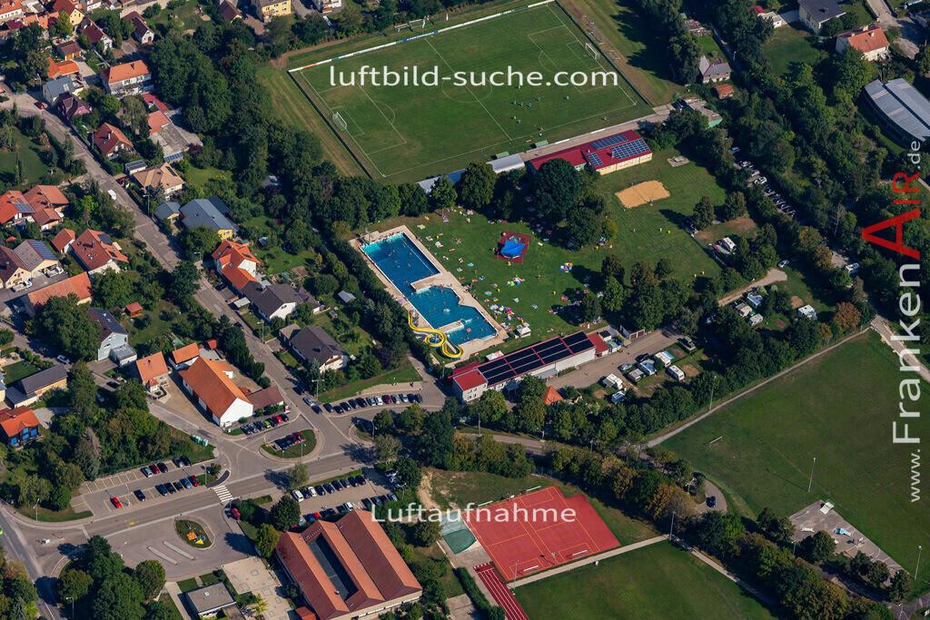 uffenheim-19-742   aktuelles Luftbild von  Uffenheim - Luftaufnahme wurde 2019 von https://frankenair.de mittels Flugzeug (keine Drohne) erstellt.