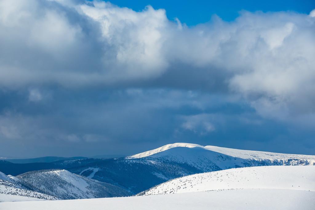 rk_05114 | Blick von der Schneekoppe im Riesengebirge in Tschechien.
