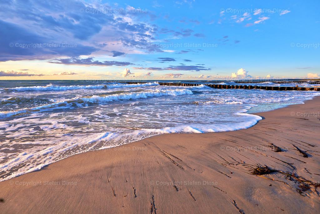romantic evening on beach | romantic evening on beach