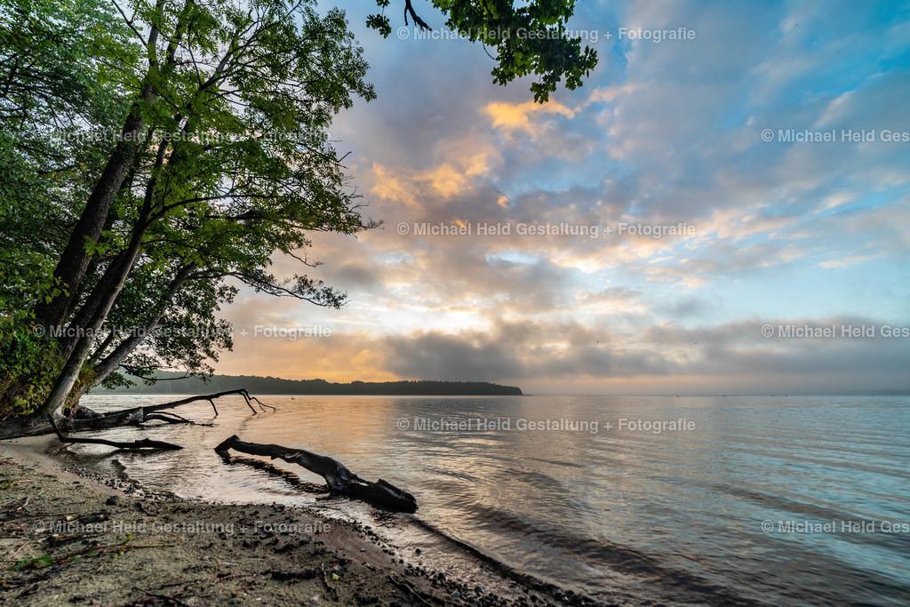 Guten Morgen am See | Sonnenaufgang im Spätsommer