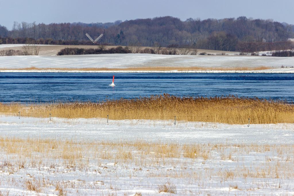 Winnemark an der Schlei   Winnemark an der Schlei im Winter