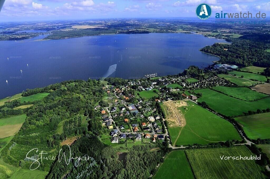 Luftbild Borgwedel, Schlei, Ostseefjord, Sportboothafen, Bootswerft | Luftbild Borgwedel, Schlei, Ostseefjord, Sportboothafen, Bootswerft • max. 6240 x 4160 pix