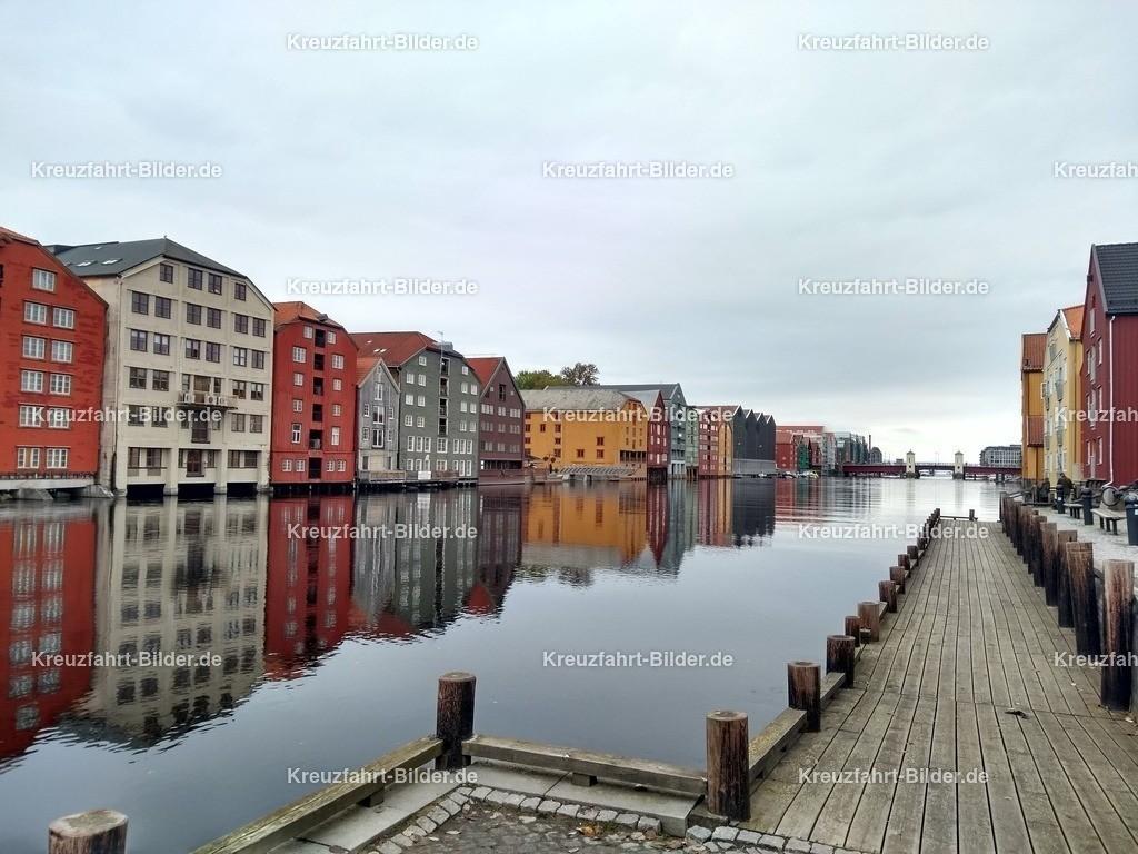 Bunte Häuser in Trondheim II | Bunte Häuser in Trondheim II
