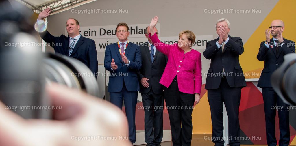 DSC_8057 | Heppenheim, Wahlveranstaltung, CDU, Angela Merkel auf dem parkhof, ,, Bild: Thomas Neu