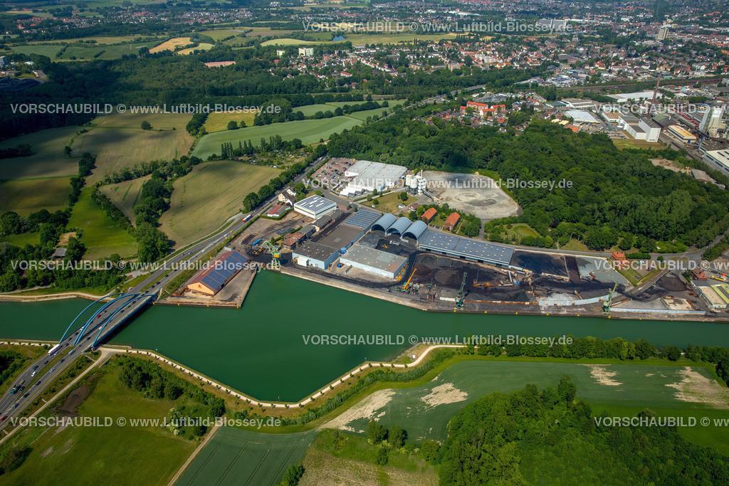 Luenen15064125   Stadthafen Lünen am Datteln-Hamm-Kanal, Binnenschifffahrt, Lünen, Ruhrgebiet, Nordrhein-Westfalen, Deutschland