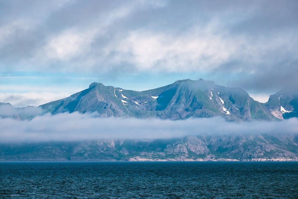 Küste auf den Lofoten in Norwegen | Küste auf den Lofoten in Norwegen.