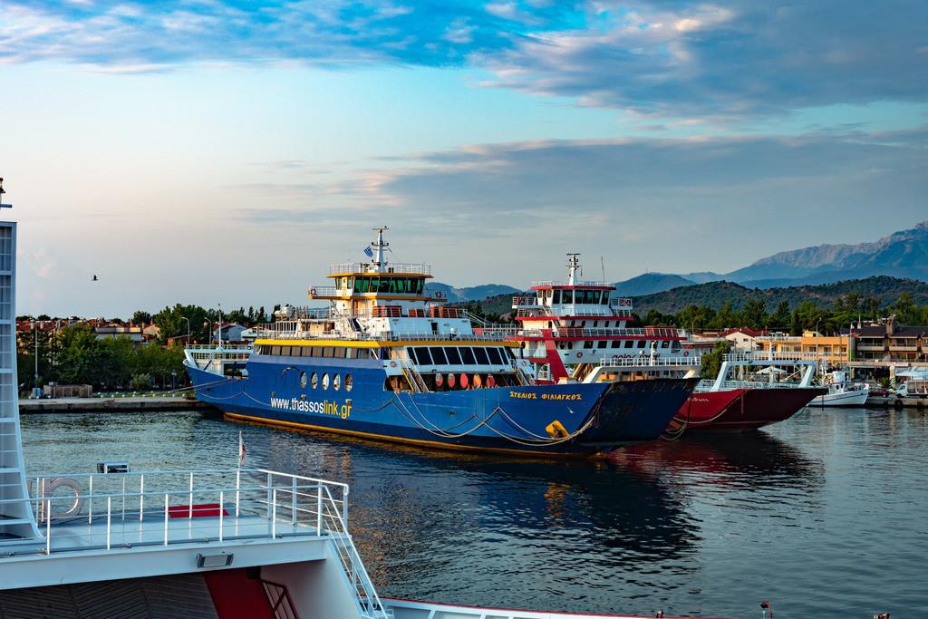 20190713-Ferries in Keramoti