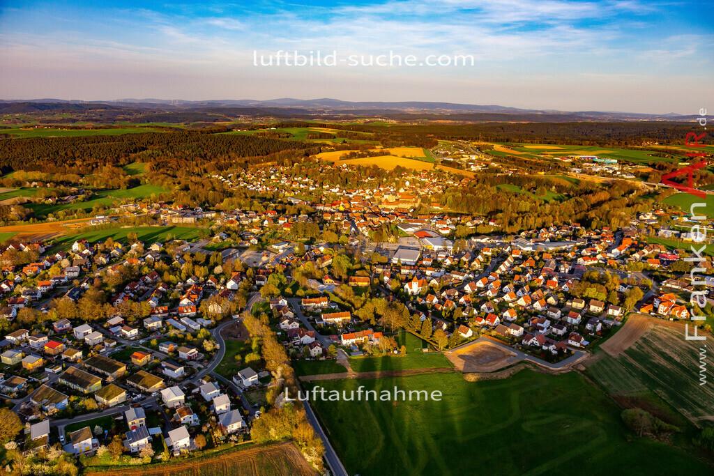 thurnau-18-202 | aktuelles Luftbild von  Thurnau - Luftaufnahme wurde 2018 von https://frankenair.de mittels Flugzeug (keine Drohne) erstellt.