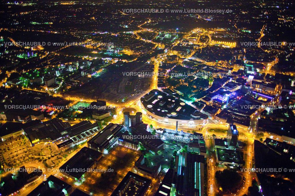 ES10052702 | Berliner Platz , Limbecker Platz Karstadt bei Nacht,  Essen, Ruhrgebiet, Nordrhein-Westfalen, Germany, Europa, Foto: hans@blossey.eu, 14.05.2010