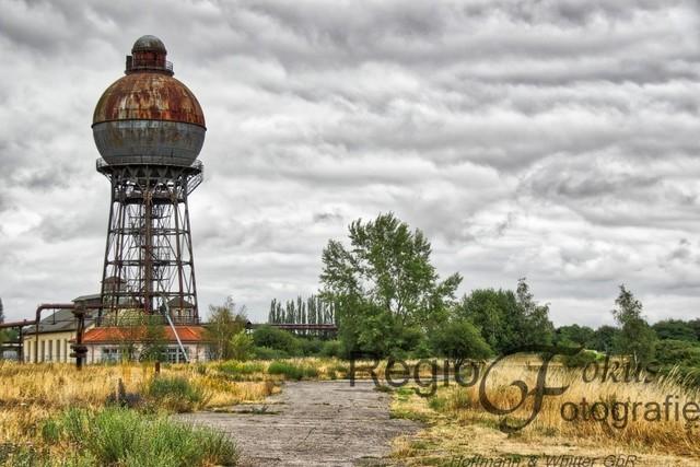 Kugelwasserturm | Kugelwasserturm im Industrieparkt Ilseder Hütte