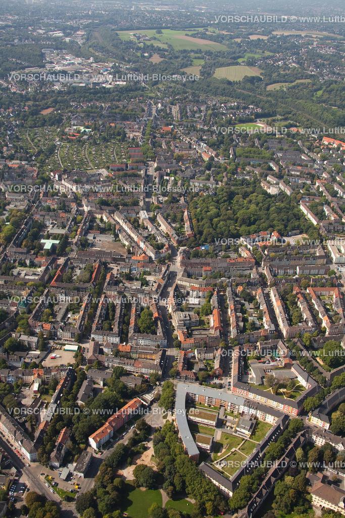 ES10095599 | Luftbild, Frohnhauser Straße, Marketing Essen, Grieger,  Essen, Ruhrgebiet, Nordrhein-Westfalen, Germany, Europa, Foto: hans@blossey.eu, 11.09.2010