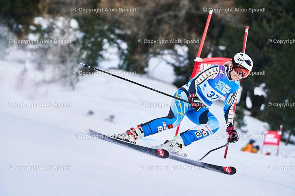 ALS5505_WWMG_GS-II_C   (C) FotoLois.com, Alois Spandl, WinterWorldMastersGames 2020 Innsbruck, Giant Slalom-II Gruppe C Damen, Patscherkofel Olympiaabfahrt, Mi 15. Jänner 2020.