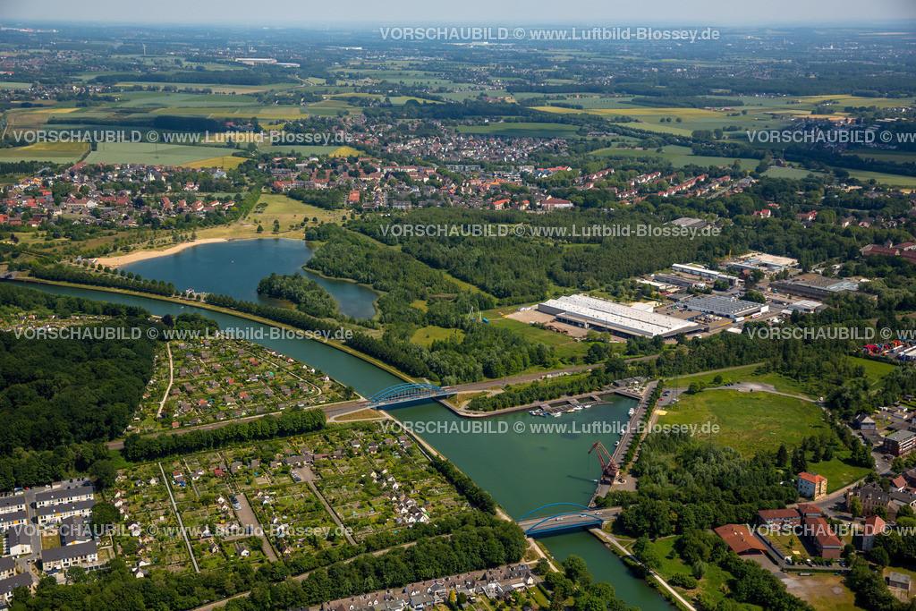 Luenen15064052 | Seepark Lünen mit Kanal und Preußenhafen, Datteln-Hamm-Kanal, Lünen, Ruhrgebiet, Nordrhein-Westfalen, Deutschland