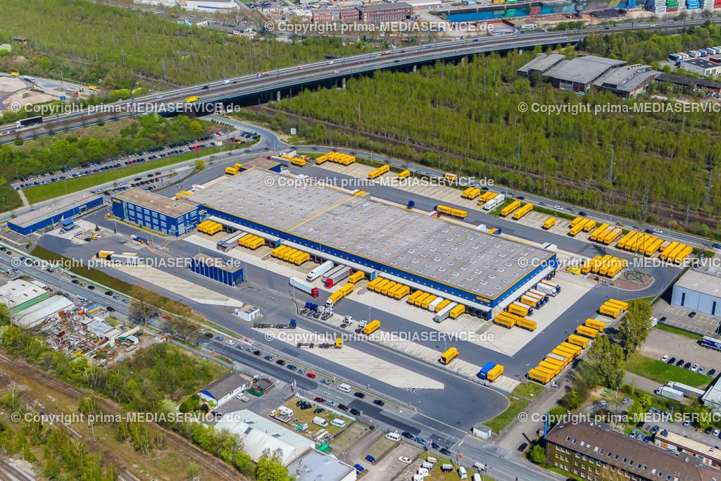 IMGL1978 | Luftbild DACHSER GmbH & Co. KG Frachtspeditionsdienst 21.04.2015 Niederlassung in Dortmund (Nordrhein-Westfalen, Deutschland).  Foto: Michael Printz / PHOTOZEPPELIN.COM