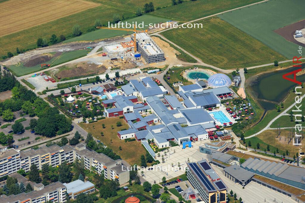 franken-therme-bad-windsheim-2015-1405 | Luftbild von Franken-therme Bad-windsheim - Luftaufnahme wurde 2015 von https://frankenair.de mittels Flugzeug (keine Drohne) erstellt - die Geschenkidee