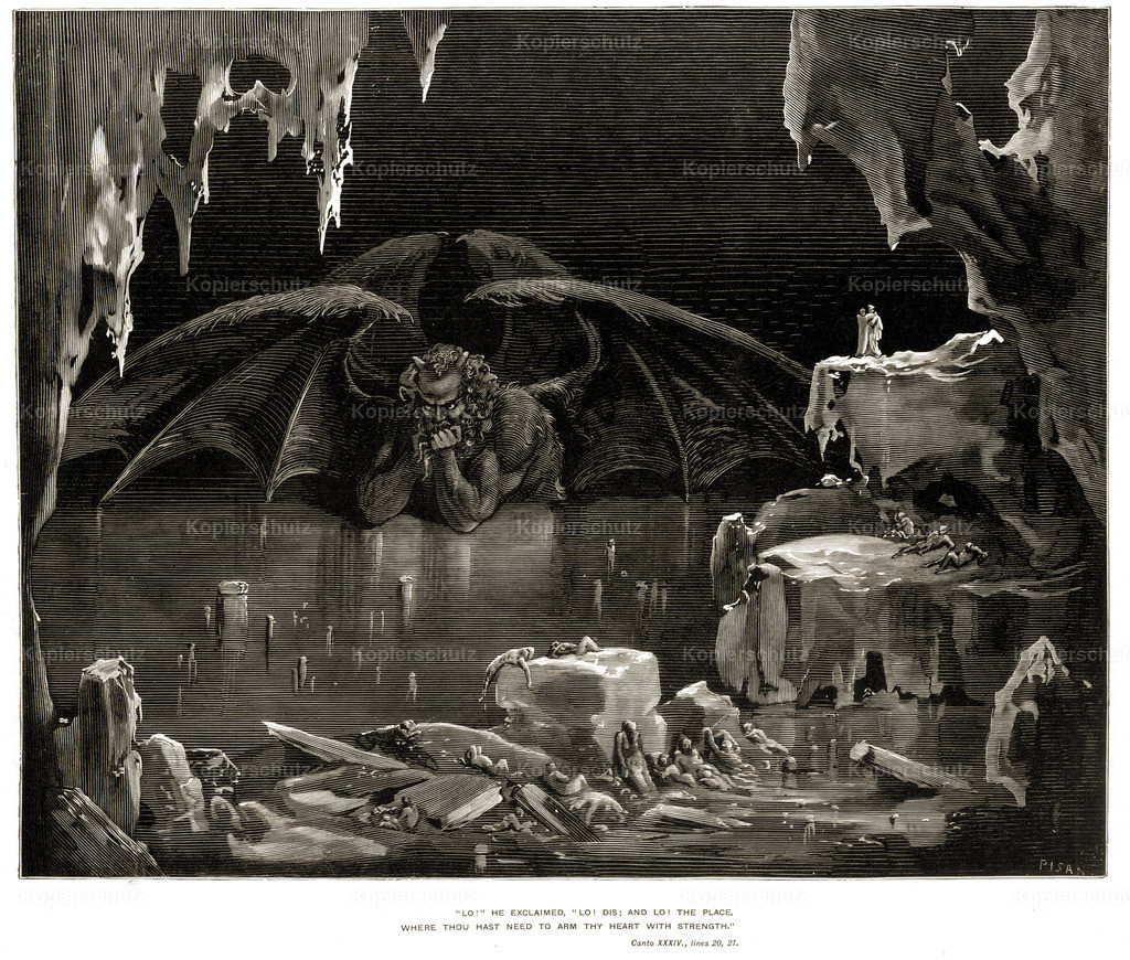 The Vision of Hell_ by Gustave Dor_ 1890