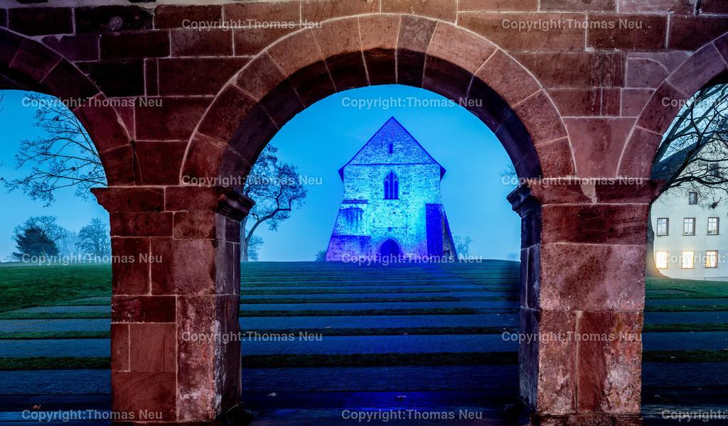 DSC_3873 | ble,Lorsch, blaues Weihnachtswunder, Innenstadt, ,, Bild: Thomas Neu