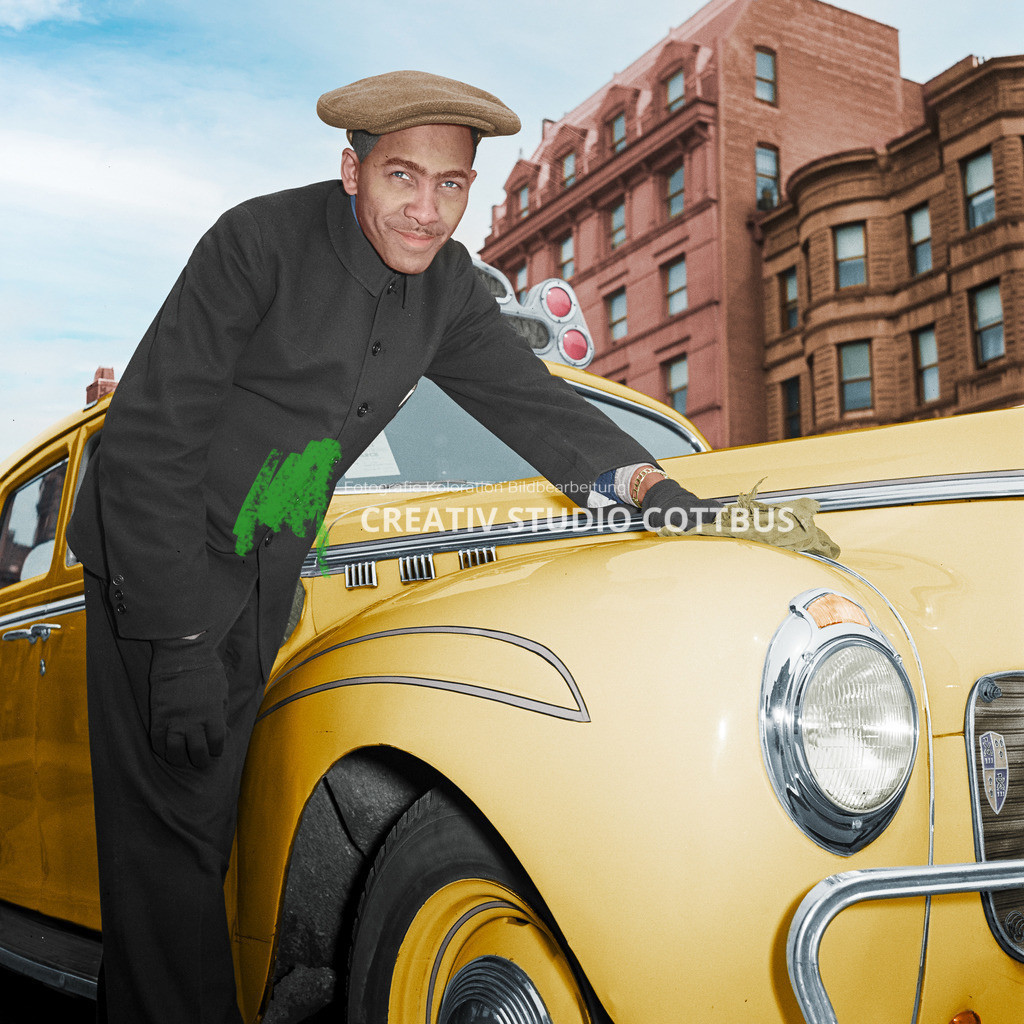 Taxifahrer 1942 | Taxifahrer in New York 1942