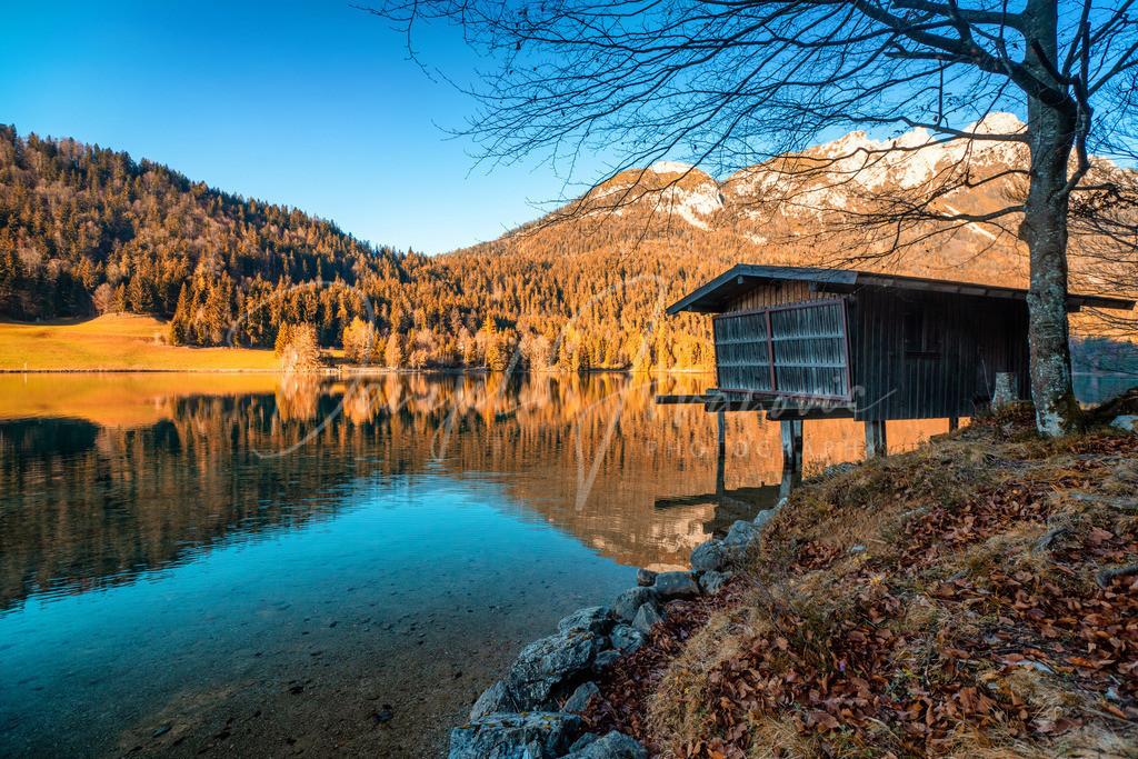 Hintersteinersee | Der Hintersteinersee in Scheffau