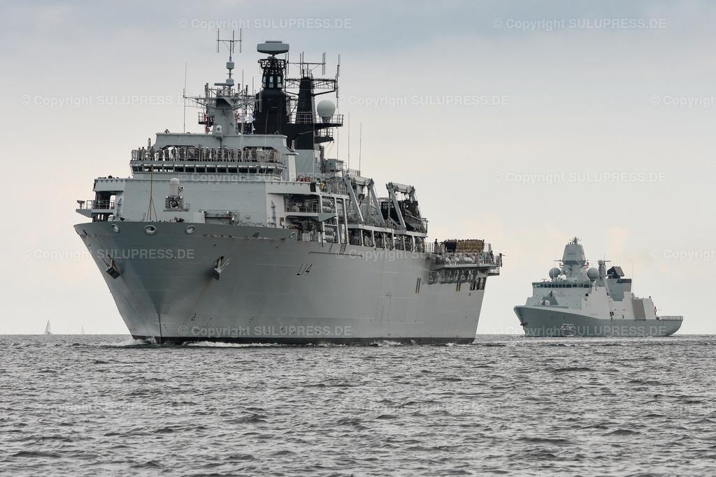 HMS Albion in Kiel | 21.06.2019, zum Abschluss des NATO-Manövers BALTOPS 2019 läuft das Britische Landungsschiff HMS Albion in den Kieler Marine Stützpunkt ein. Mit 18.560 ts Wasserverdrängung ist es eines der größten Marine Schiffe der diesjährigen Kieler Woche. Die HMS