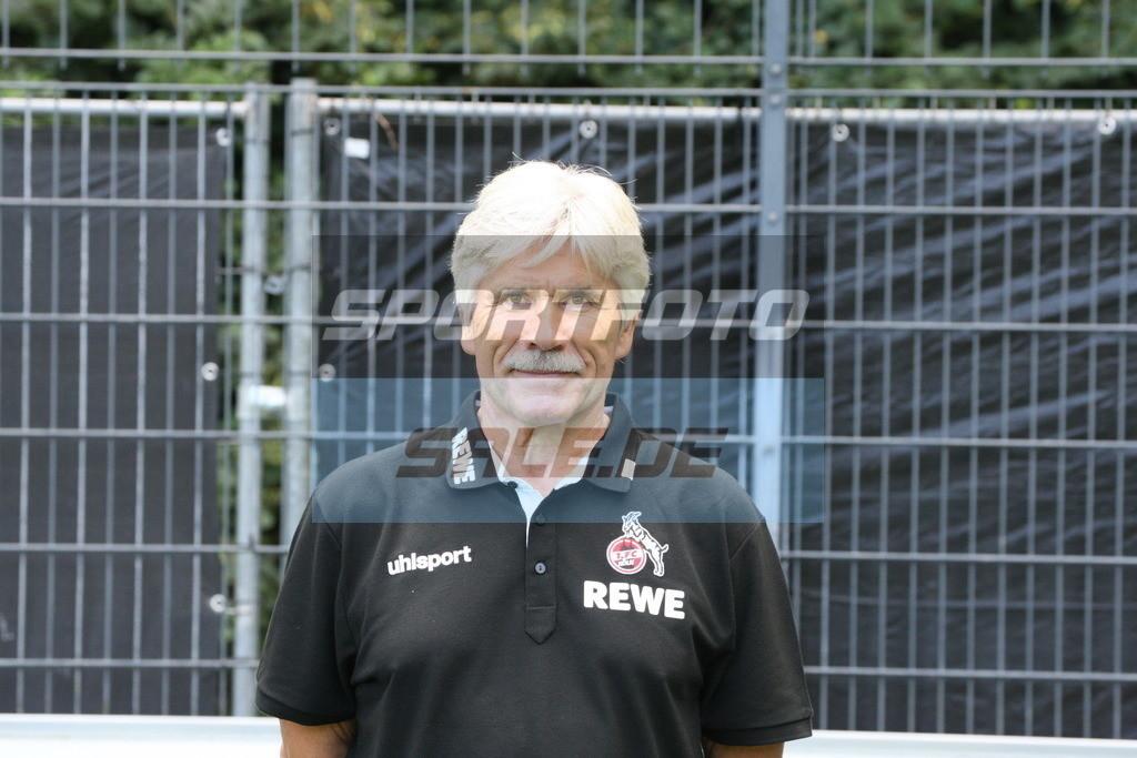 1. FC Köln Fotoshooting | Dr. Peter Schäferhoff - © Sportfoto-Sale (MK)