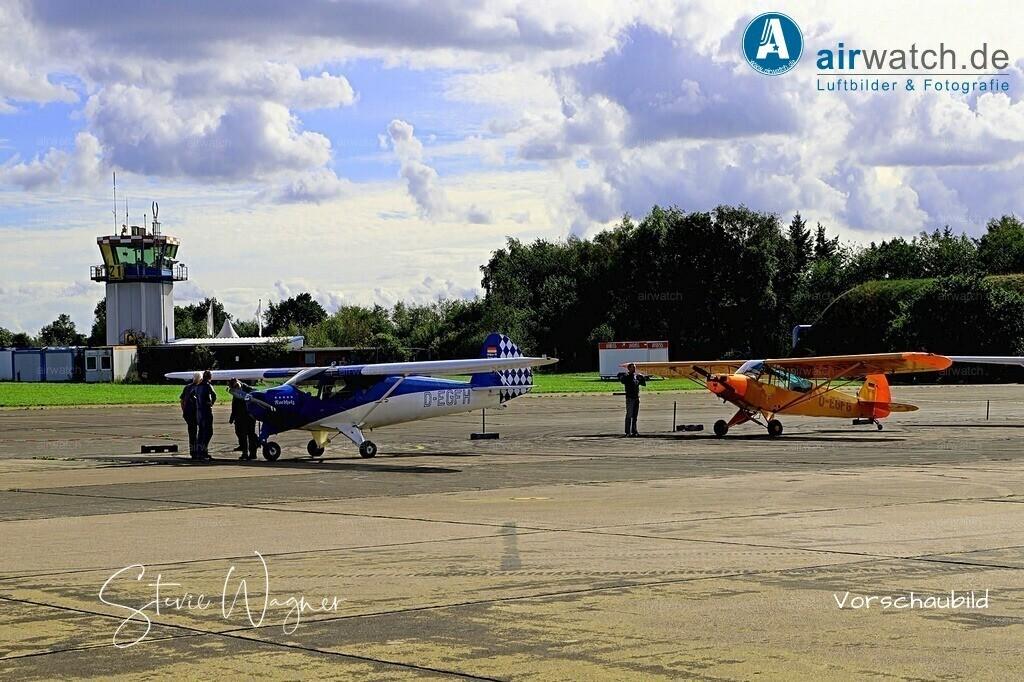 Flughafen Husum, Elster-B, Piper L 18 | Flughafen Husum, Elster-B, Piper L 18 • max. 6240 x 4160 pix