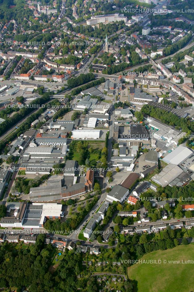 ES10094236 | Schuermannstrasse, Luftbild,  Essen, Ruhrgebiet, Nordrhein-Westfalen, Germany, Europa, Foto: hans@blossey.eu, 05.09.2010