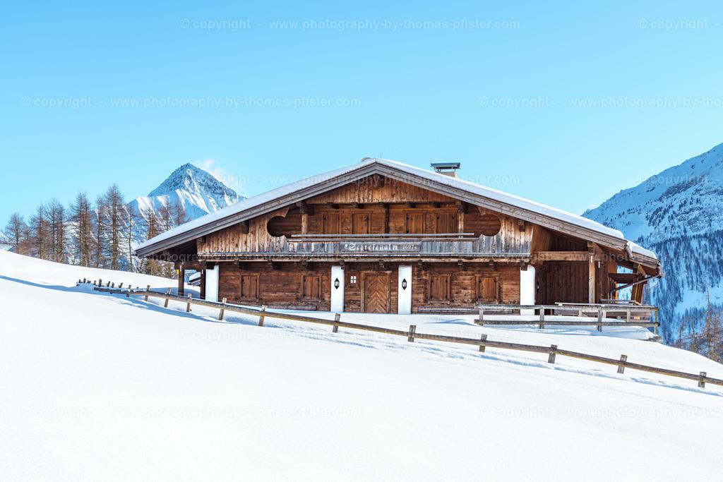 Schrofenalm Tux im Winter-1