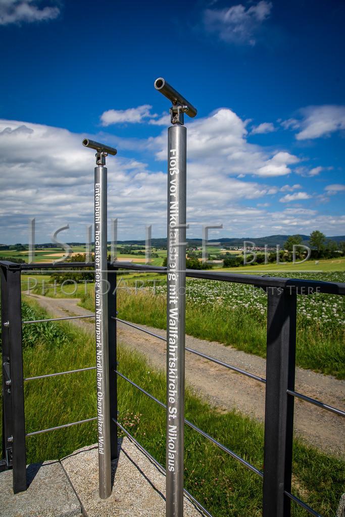 Naturschutzgebiet Doost   Aussichtspunkt mit Fokusrohren... einfach mal ausporbieren