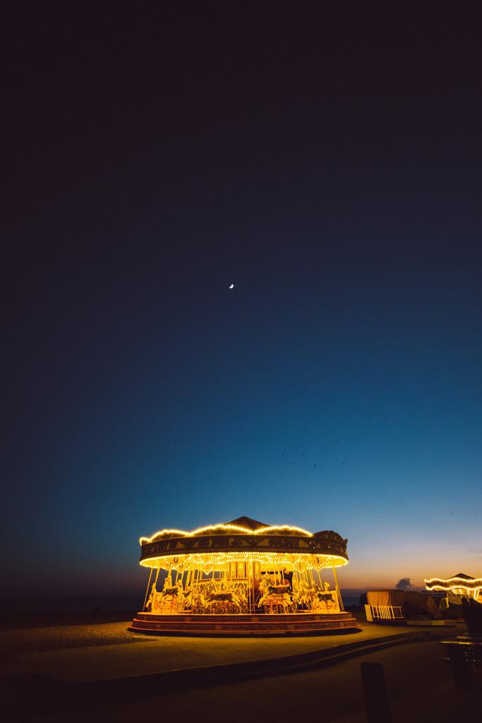 Brighton | Karusell am Brighton Beach, Brighton, England