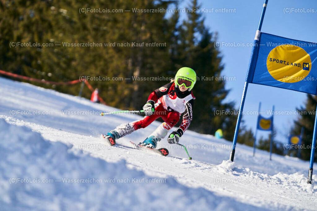 0087_KinderLM-RTL-I_Trattenbach_Krempl Sara | (C) FotoLois.com, Alois Spandl, NÖ Landesmeisterschaft KINDER in Trattenbach am Feistritzsattel Skilift Dissauer, Sa 15. Februar 2020.
