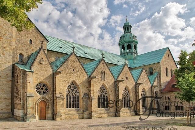 Dom zu Hildesheim | Der Hildesheimer Dom von seiner Schokoladenseite