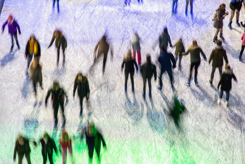 JT-190103-018 | Eisbahn, Eislaufen, Schlittschuh laufen, in Bewegung,