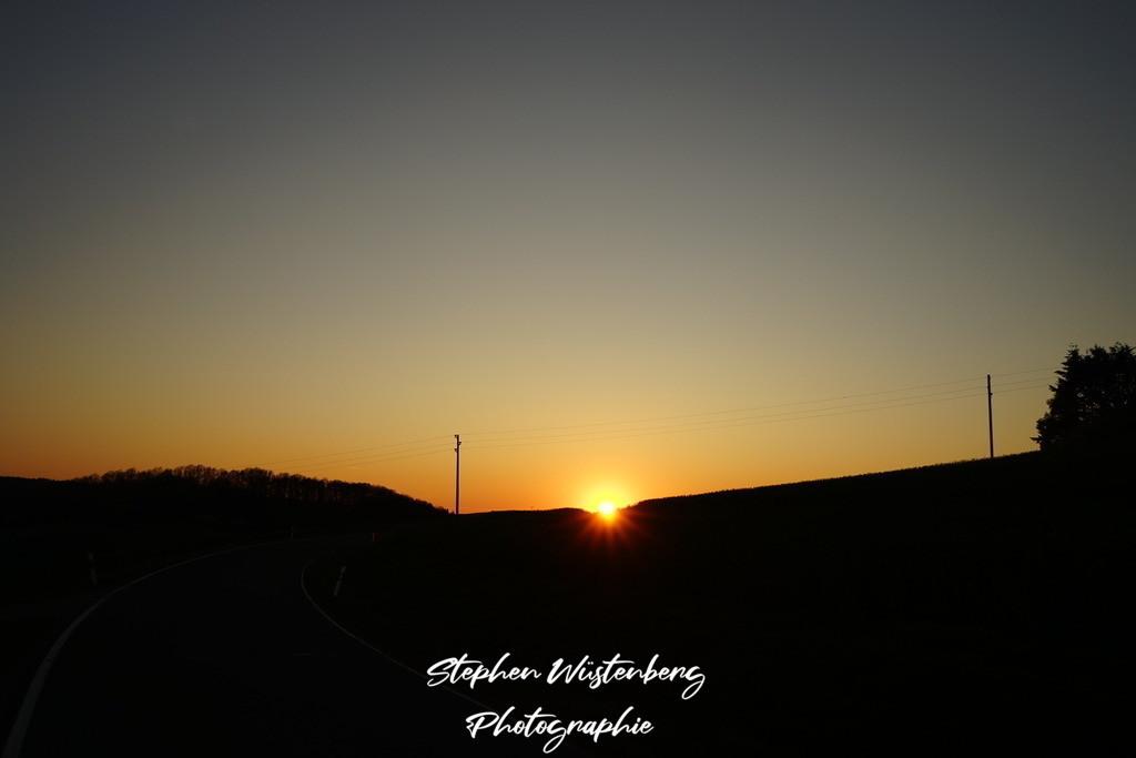 Sunset Leithöfe | Sonnenuntergang zwischen Leithöfe und Höringen