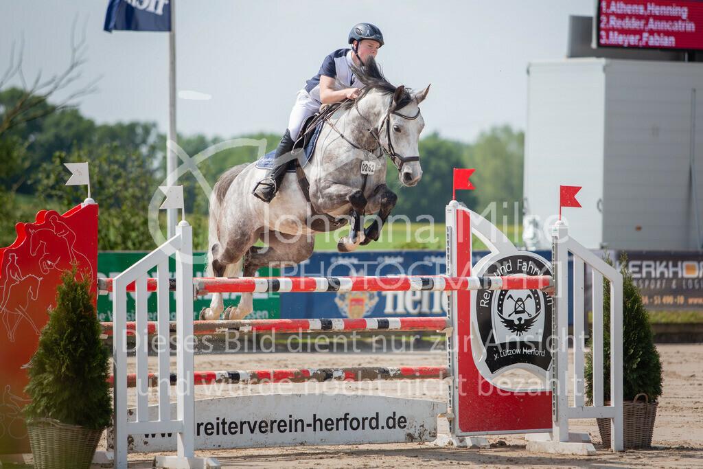 190524_LüPfSpTa_M-Spr_U25-316 | Pferdesporttage Herford 2019 Springprüfung Kl. M* U25