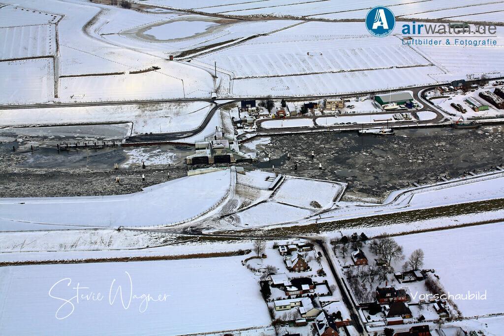 Luftbild Husum, Nordsee, Dockkoog, Poorenkoog, Schlaeuse, Aussenhafen | Luftbild Nordsee, Husum, Nordsee, Aussenhafen, Schlaeuse • max. 4272 x 2848 pix.