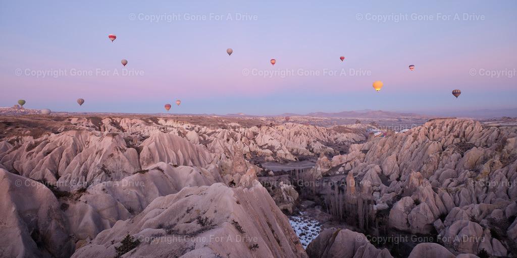 Galerie-Landschaftsbilder_50 | Heißluftballons über Kappadokien