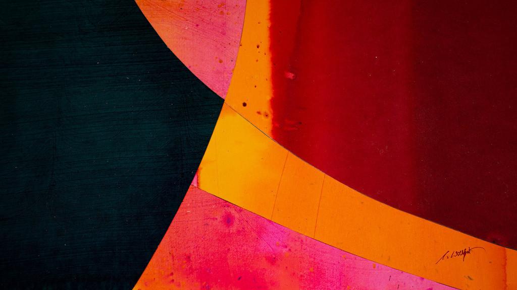 2_Farbeninstrumental_4249 | Instrumentalmusik mit den Augen hören ... Holzbeizen - Phantasie auf Papier.  (Teile der Originale von der Serie