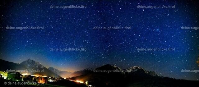 AF_00982-Pano-01 | Sternenhimmel über Tirol.