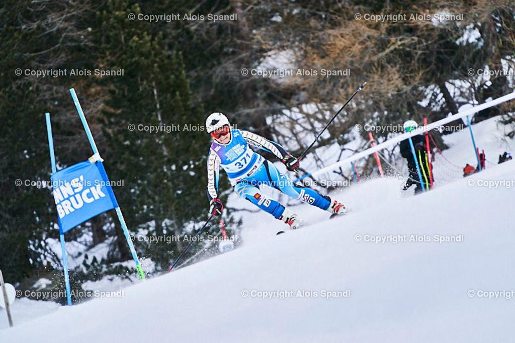 ALS5497_WWMG_GS-II_C   (C) FotoLois.com, Alois Spandl, WinterWorldMastersGames 2020 Innsbruck, Giant Slalom-II Gruppe C Damen, Patscherkofel Olympiaabfahrt, Mi 15. Jänner 2020.