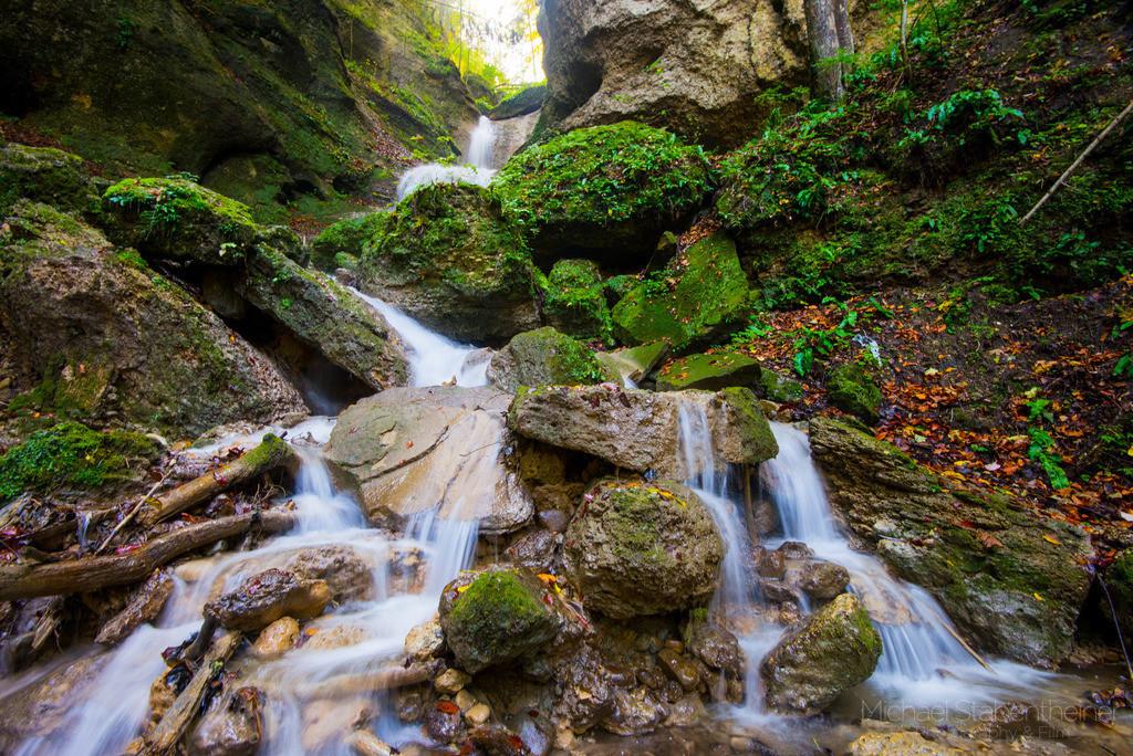 Ebenthaler Wasserfall | Langzeitbelichtung vom Ebenthaler Wasserfall bei Klagenfurt