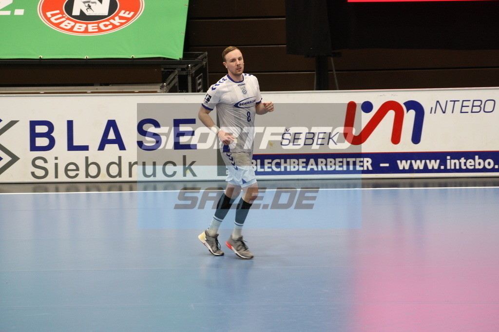 TUS N. Lübbecke - VFL Gummersbach | Lukas Blohme - © by K-Media-Sports / Sportfoto-Sale.de