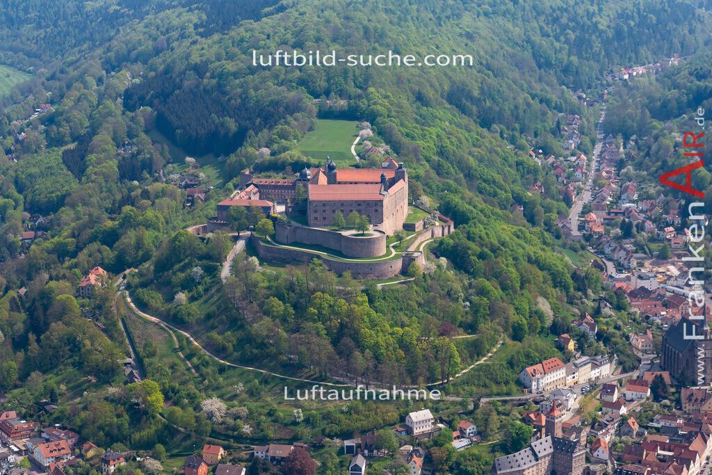 plassenburg-kulmbach-18-240 | aktuelles Luftbild von Plassenburg Kulmbach - Luftaufnahme wurde 2018 von https://frankenair.de mittels Flugzeug (keine Drohne) erstellt.