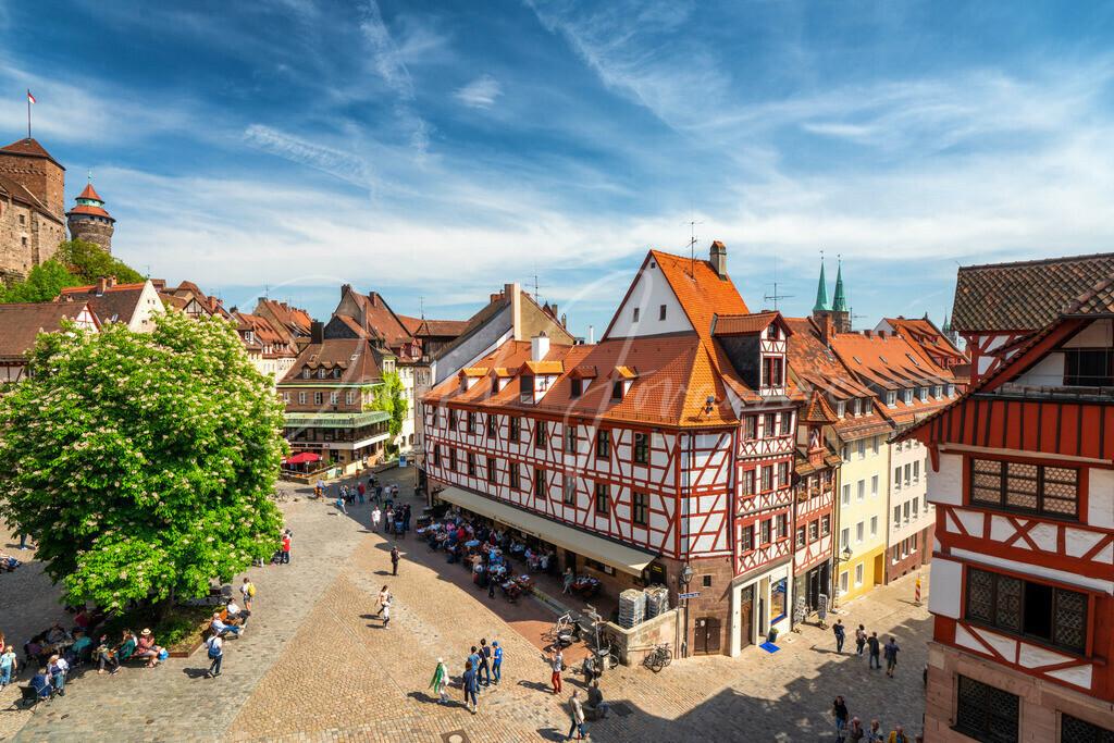 Nürnberg   Die Altstadt von Nürnberg