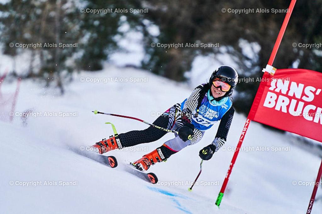ALS5861_WWMG_GS-II_C | (C) FotoLois.com, Alois Spandl, WinterWorldMastersGames 2020 Innsbruck, Giant Slalom-II Gruppe C Damen, Patscherkofel Olympiaabfahrt, Mi 15. Jänner 2020.